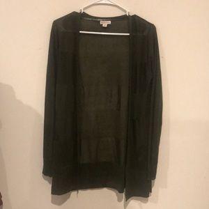 Dark green 'Merona' cardigan
